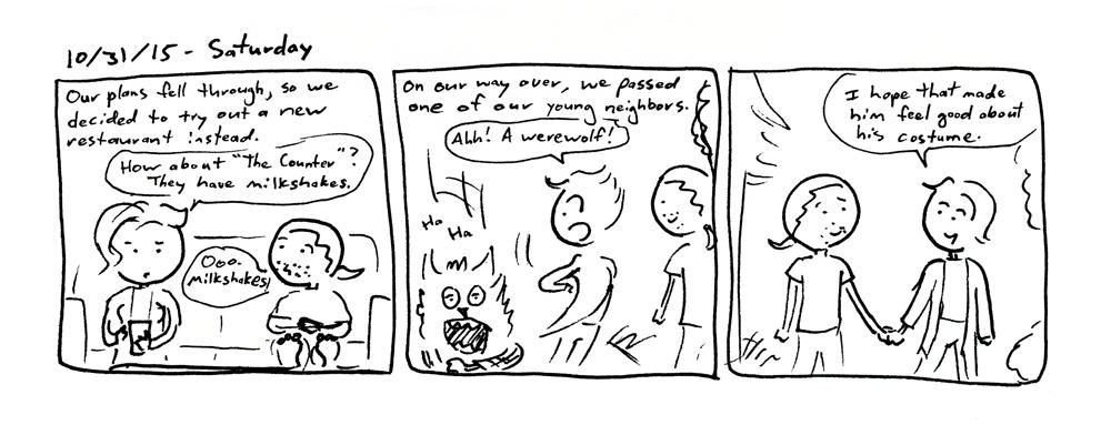 Werewolf Encounter