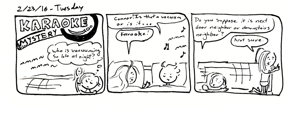 Karaoke Mystery