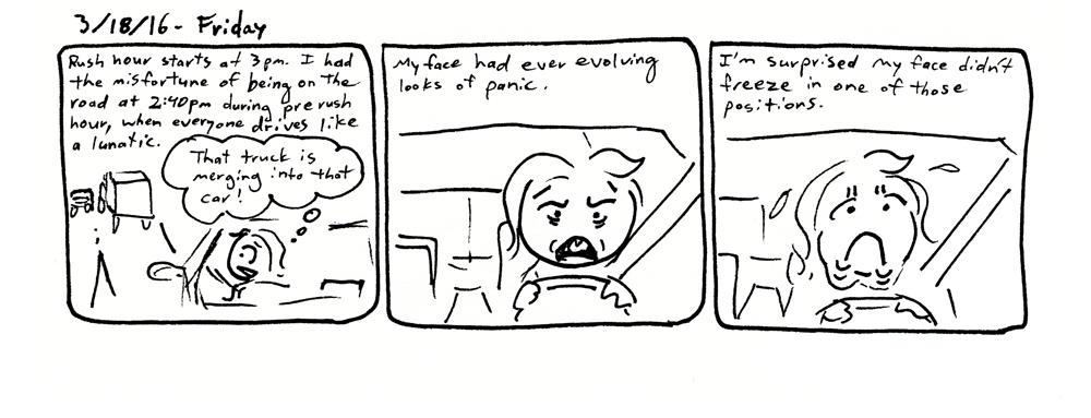 Panic Face