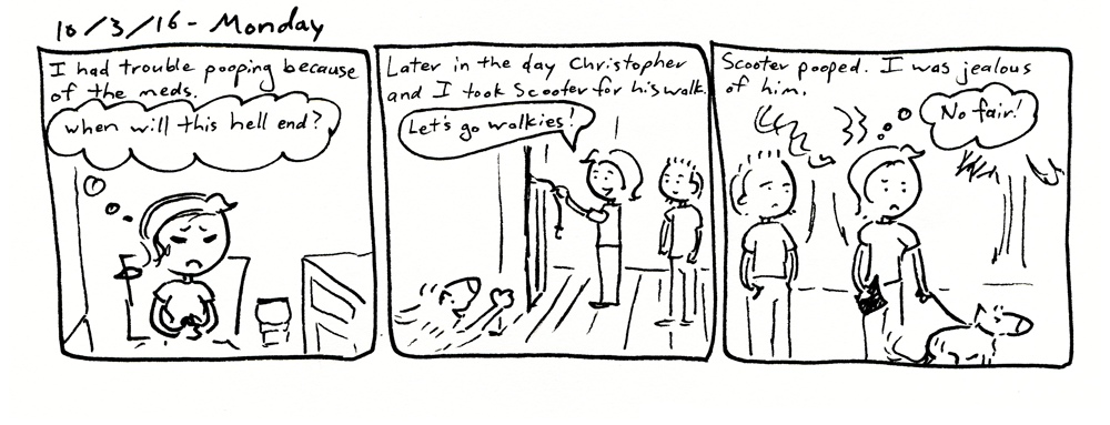 An Envious Poop